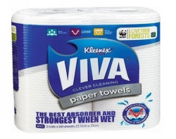 PAPER TOWEL KLEENEX VIVA TWIN PACK 666