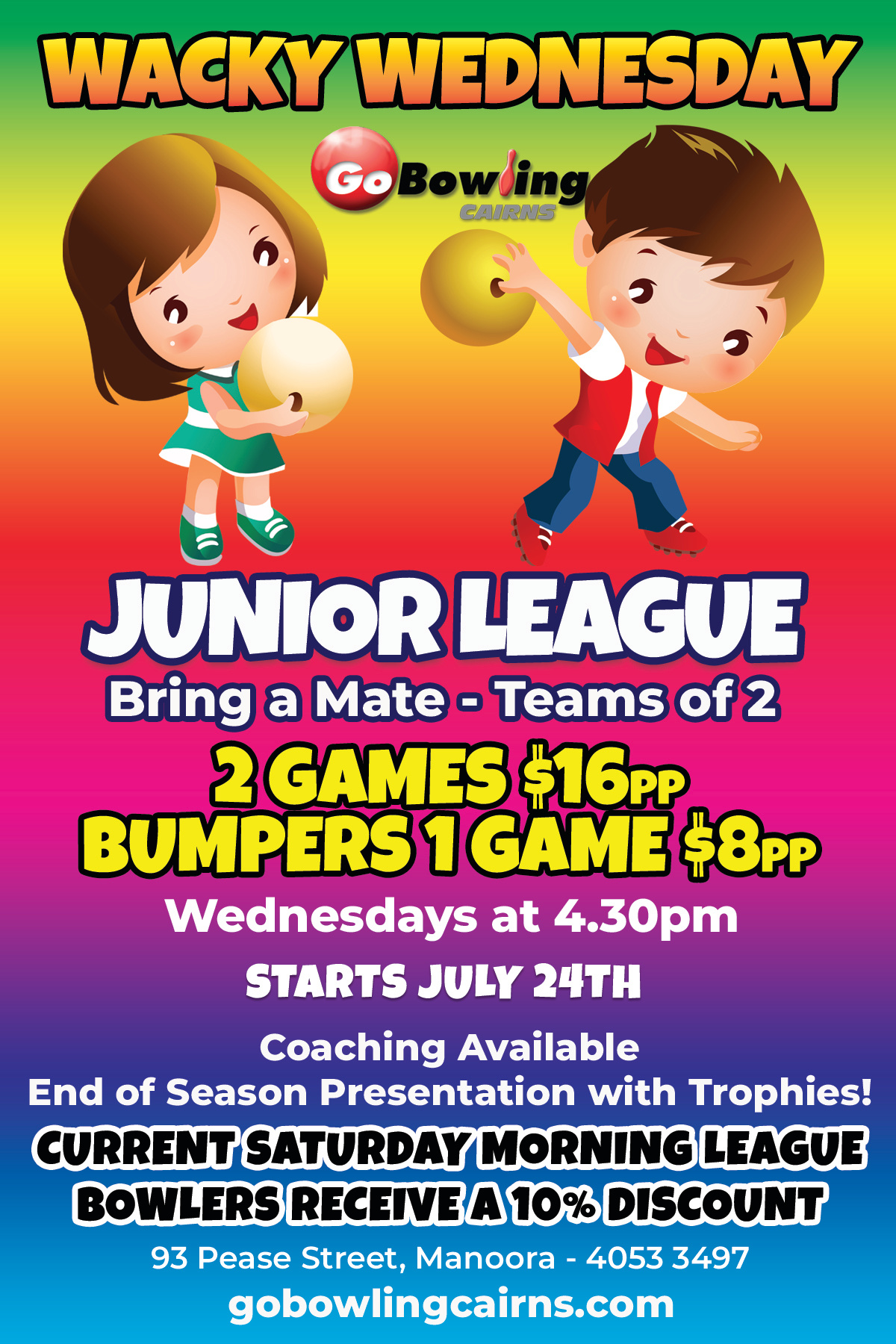 Wednesday Kids League