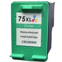 HP 75XLC High Yield 3C  Remanufactured  Inkjet Cartridge