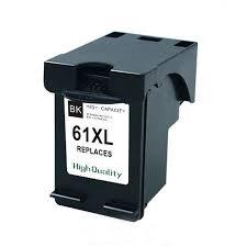 HP61XLBK High Yield Black  Remanufactured  Inkjet Cartridge