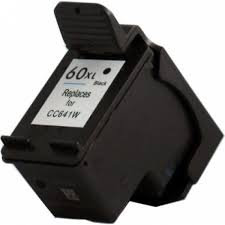 HP60XLBK High Yield Black  Remanufactured  Inkjet Cartridge