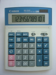 CALCULATOR CANON Ws1210t/ws1210hi III D/TOP D/POWER
