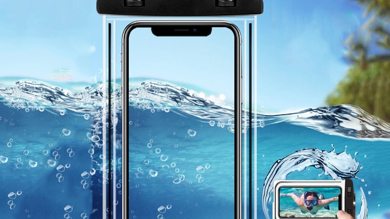 Waterproof Mobile Phone Case PVC Sealed Underwater Smart Phone Dry Pouch Cover
