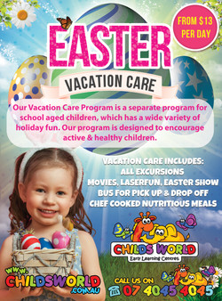 Easter Childs World Vacation Care