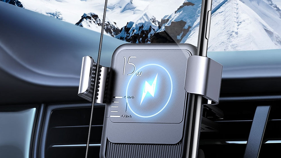 Joyroom 15w Qi Wireless Car Phone Holder Charger