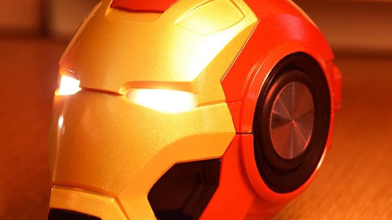 Bluetooth V4.2 Iron Man Bluetooth Speaker Subwoofer With FM Radio TF Card