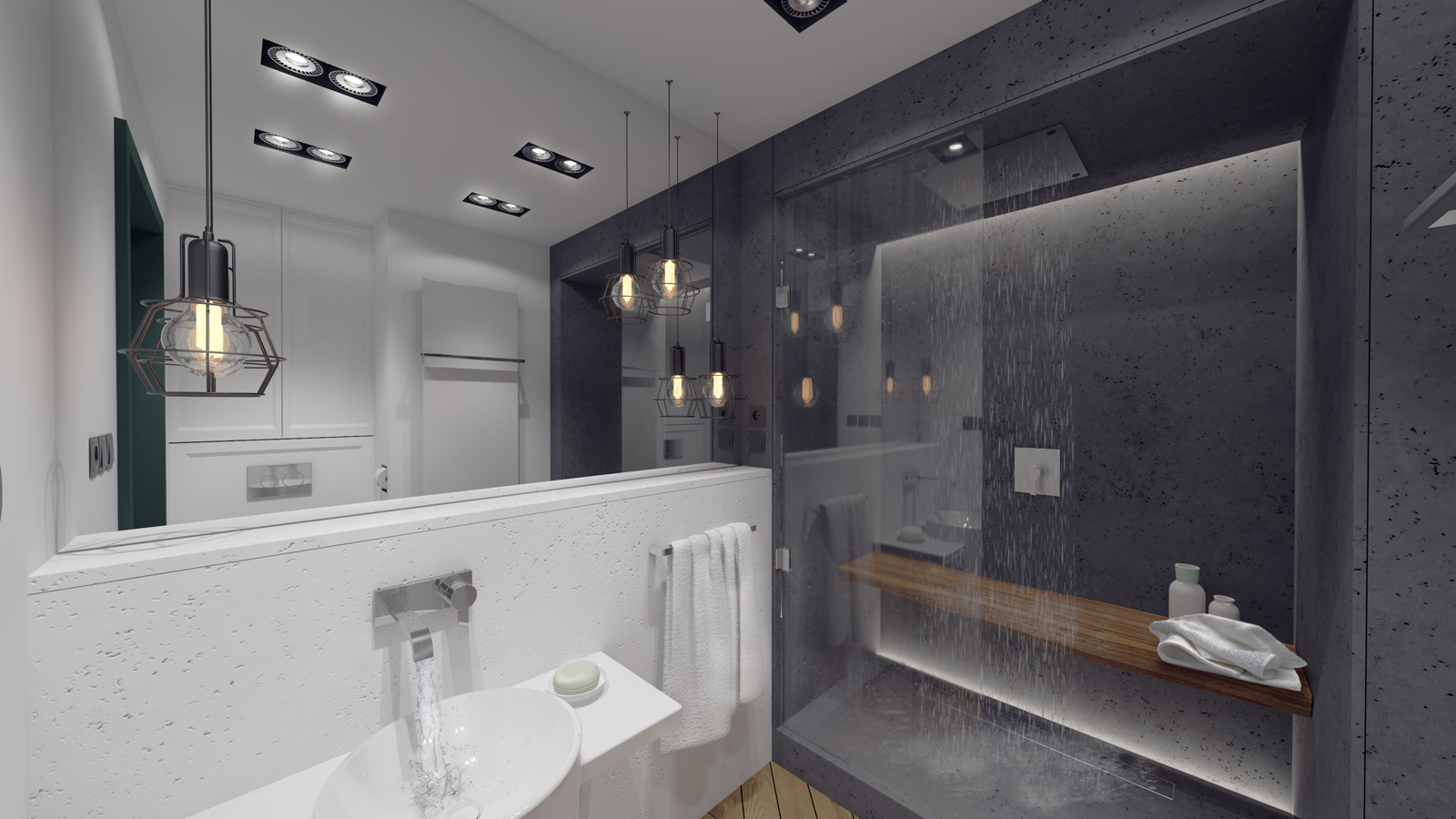 MA Zielone studio - łazienka