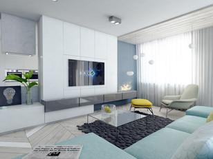 Powiew Skandynawii - remodeling mieszkania
