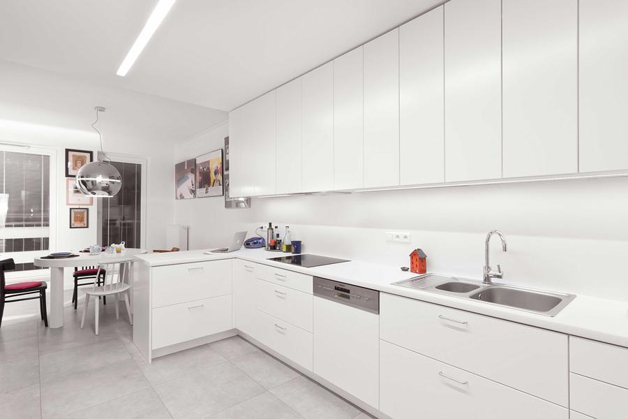 kuchnia-architekt wnetrz krakow warszawa-aranzacja mieszkania-styl nowoczesny-mieszkanie ze sztuka-a