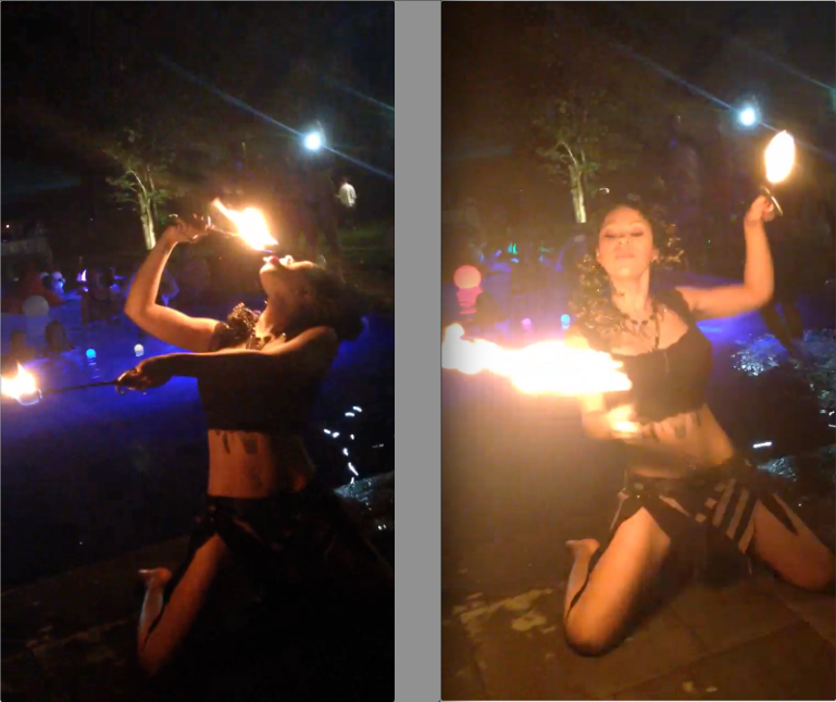 Fire Performers in NY, LI Danny Perez Pool Party