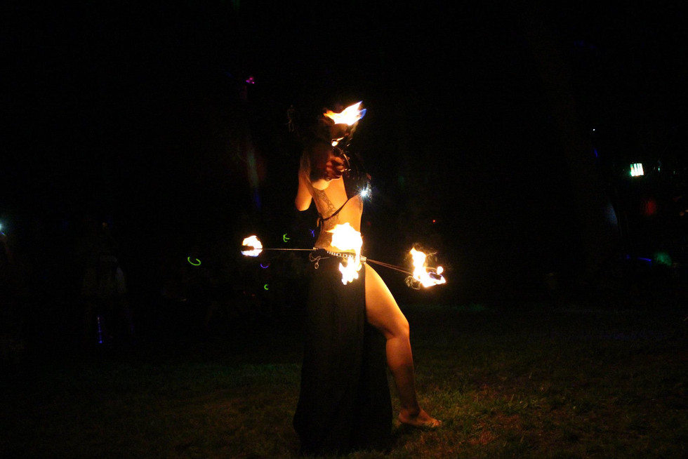 Fire Performers in Bohemia , NY 57