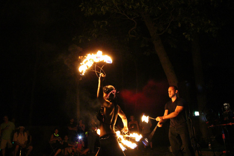Fire Performers in Bohemia , NY 26