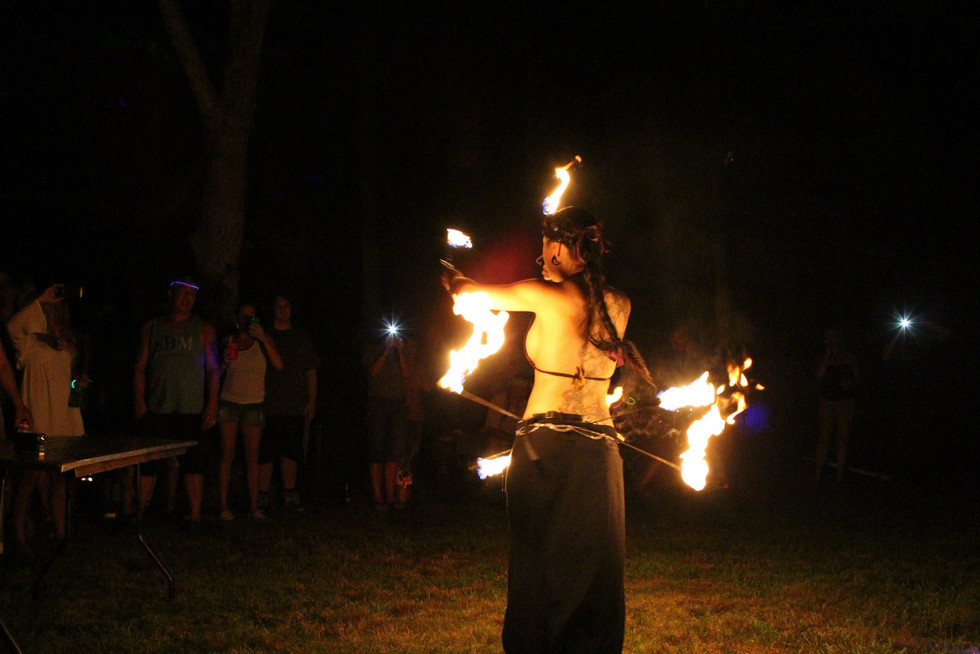 Fire Performers in Bohemia , NY 52