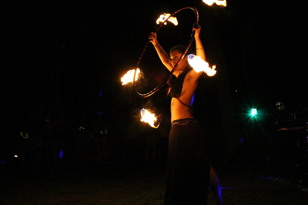 Fire Performers in Bohemia , NY 7