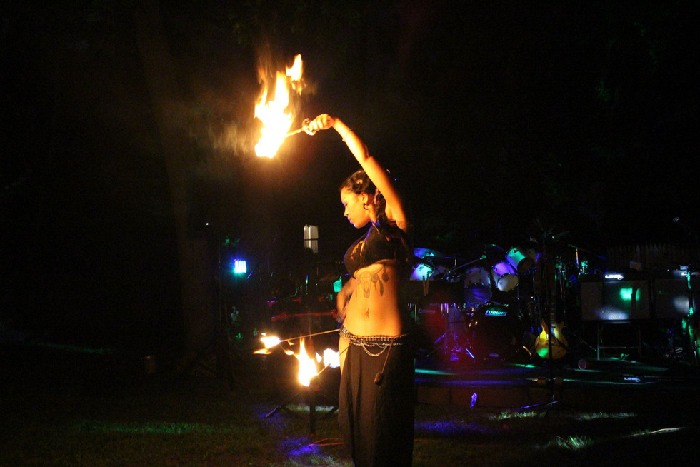 Fire Performers in Bohemia , NY 55