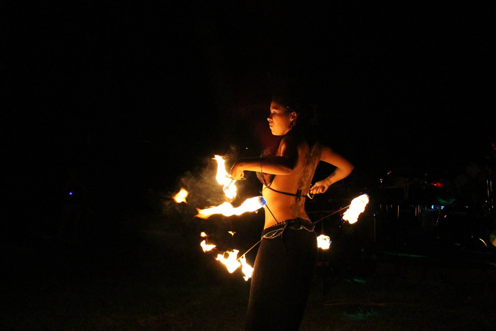 Fire Performers in NY at Jillians PartyY 54