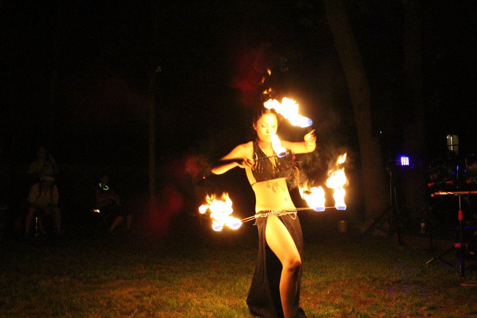 Fire Performers in Bohemia , NY 53