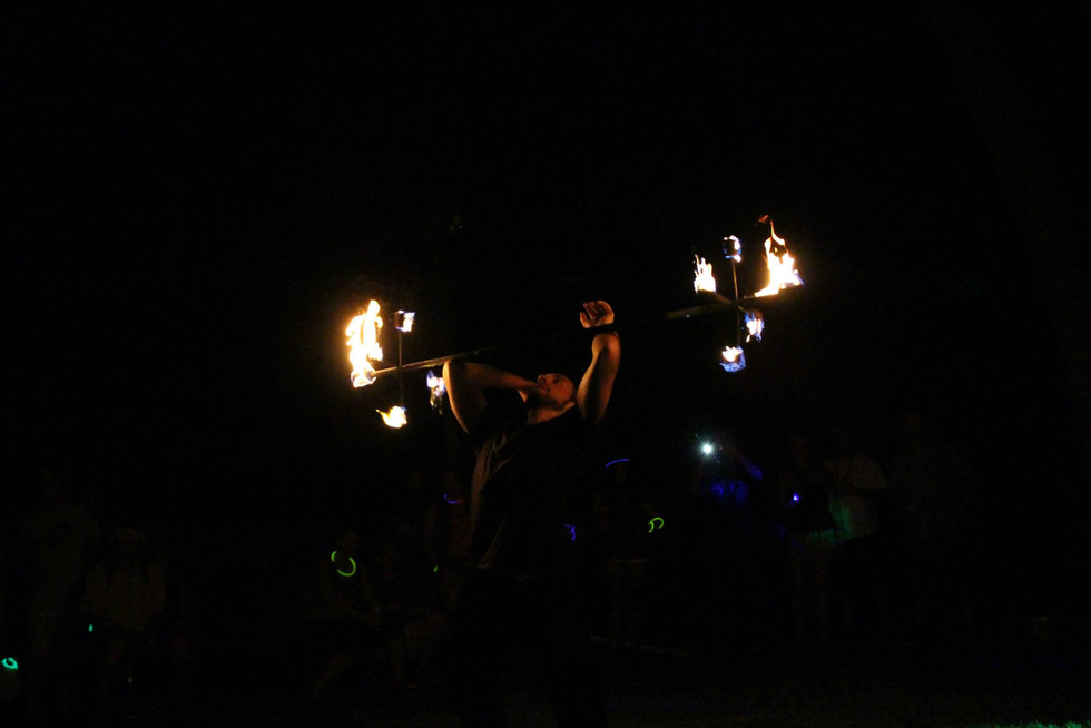 Fire Performers in Bohemia , NY 19