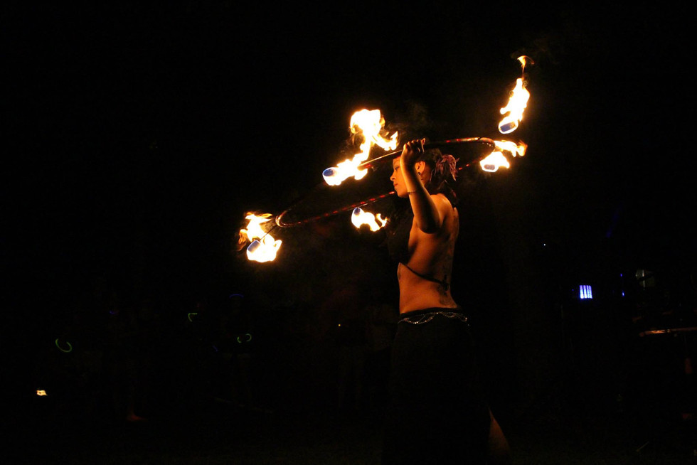 Fire Performers in Bohemia , NY 6