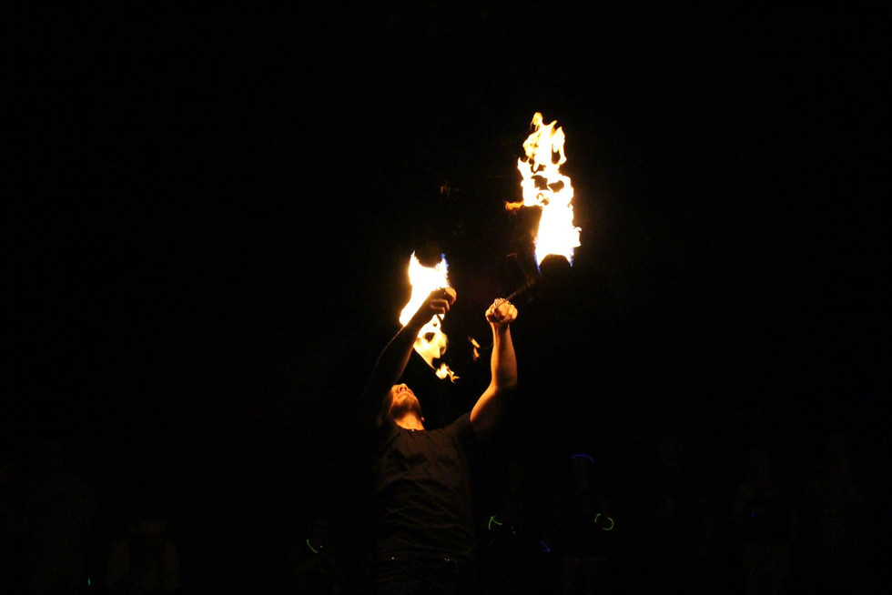 Fire Performers in Bohemia , NY 46