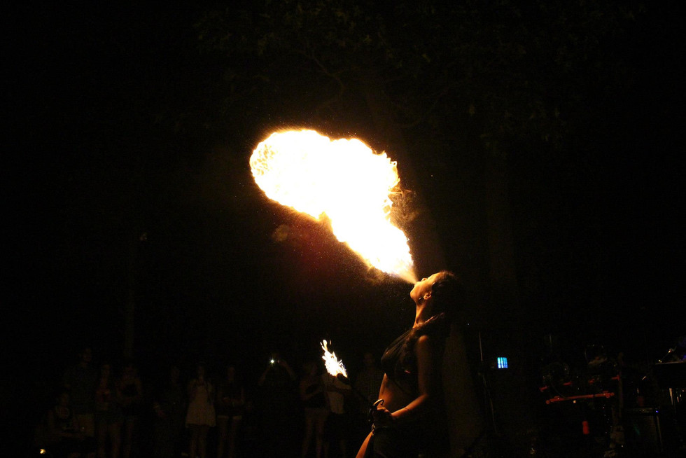 Fire Performers in Bohemia , NY 3