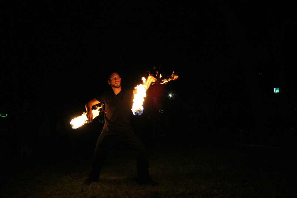 Fire Performers in Bohemia , NY 50