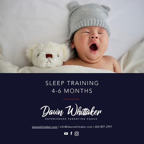 Sleep Training e.Guide 4-6 Months + 30 minute call + 5 emails