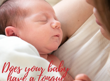 How to tell if your baby is tongue tied