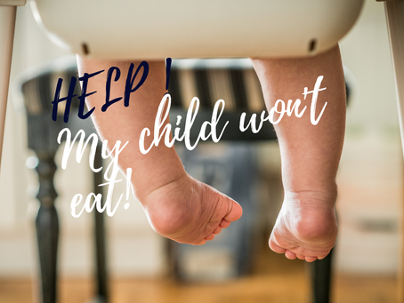 My child won't eat - 3 tips!