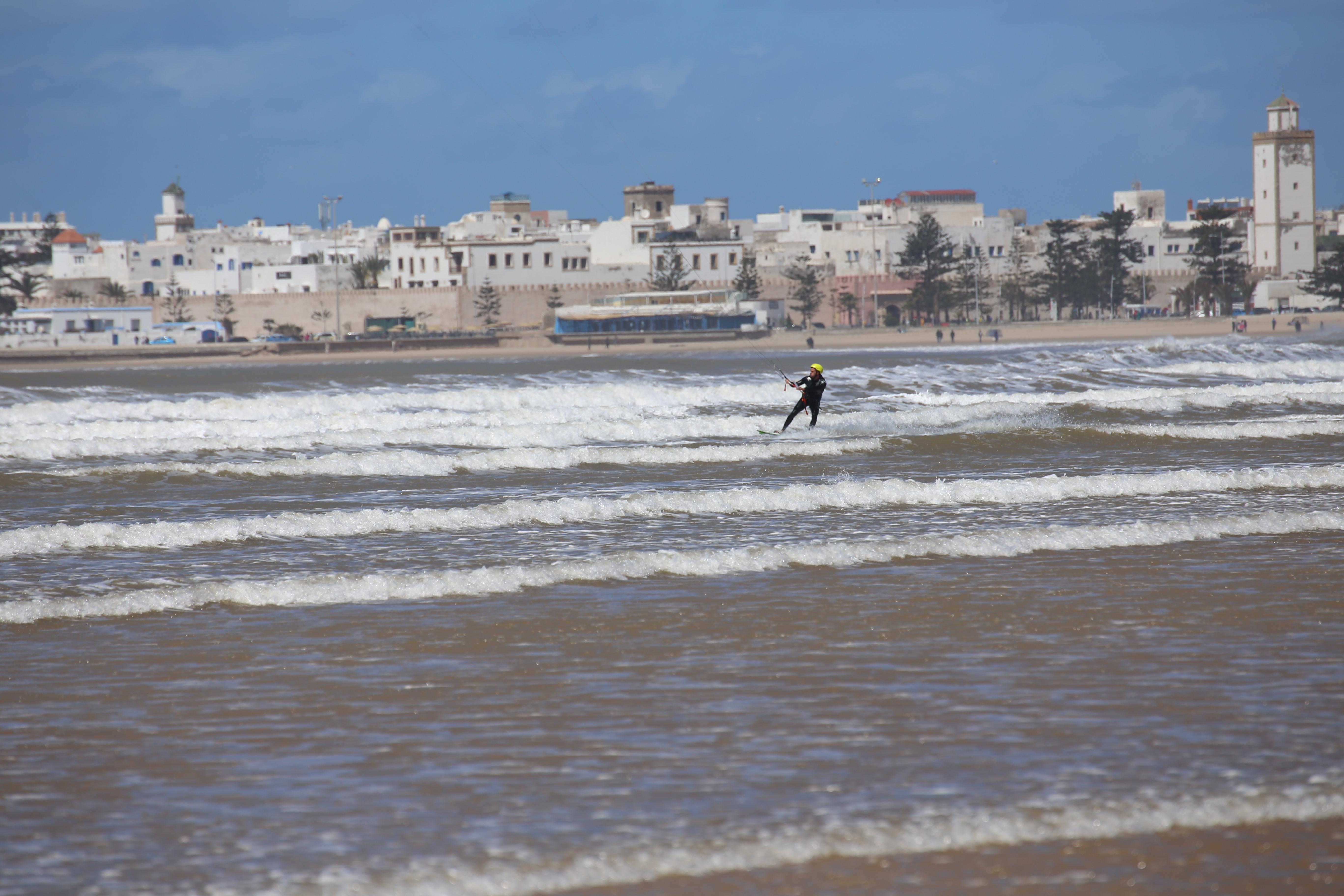 la baie d'Essaouira