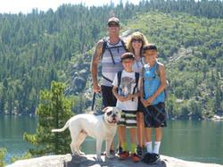 Big Lou and his Family