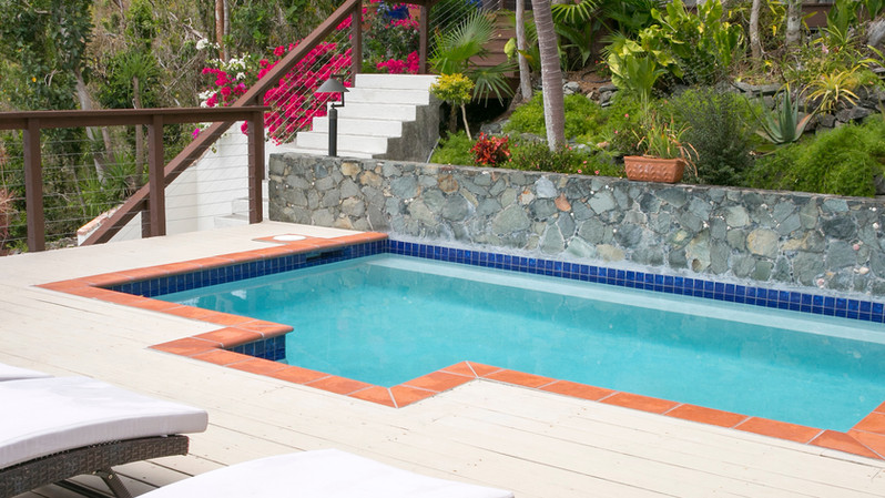 Pool w/Garden Views