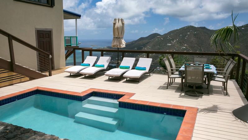 Pool Deck w/Bay Views