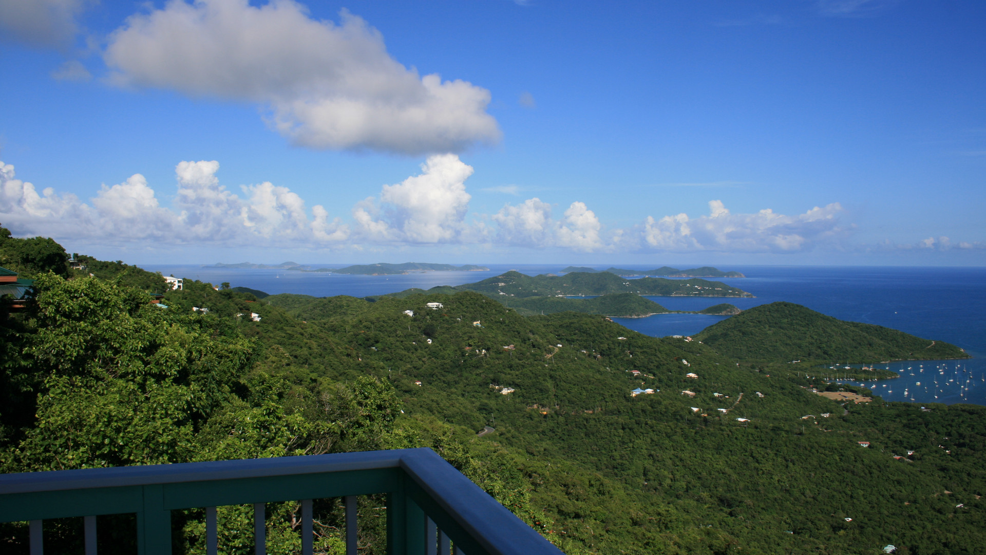 View for Miles to BVI