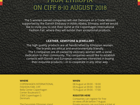 Meet 5 female entrepreneurs from Ethiopia at CIFF 8-10 August 2018
