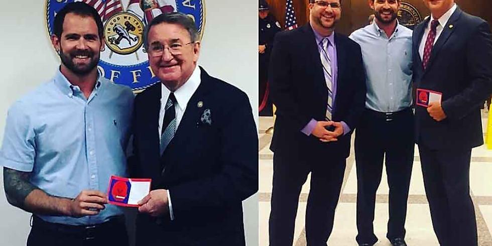 Senator Gainer, Rep Latavala and Payne TBI One Love Bill