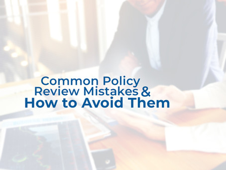 Common Policy Review Mistakes and How to Avoid Them