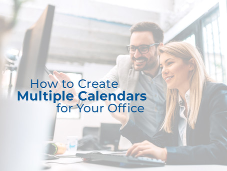How to Create Multiple Calendars for Your Office