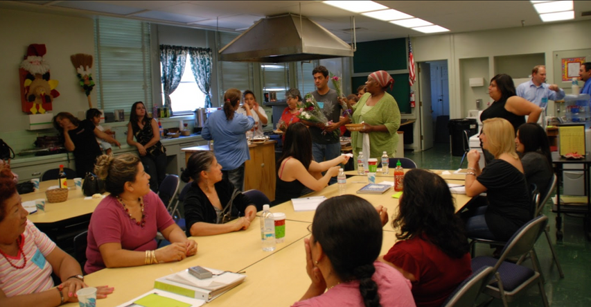 Parents learn how to advocate for their children at South Gate High School Parent Center