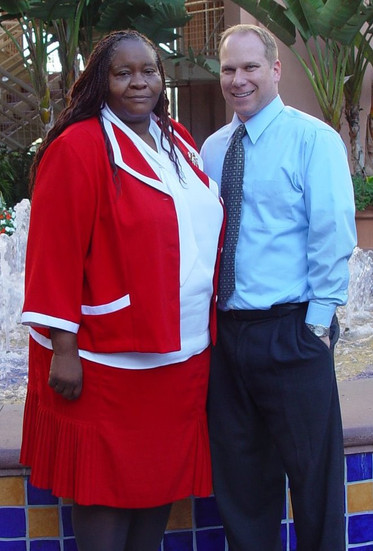 Dr. Anthony Collatos and Mary Johnson collaborated and taught Education Foundations, Equity and Social Justice courses at Pepperdine University