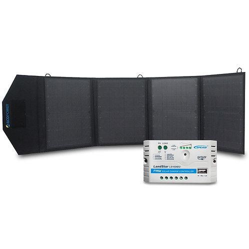 ACOPOWER LTK 50W Foldable Solar Panel Kit Suitcase