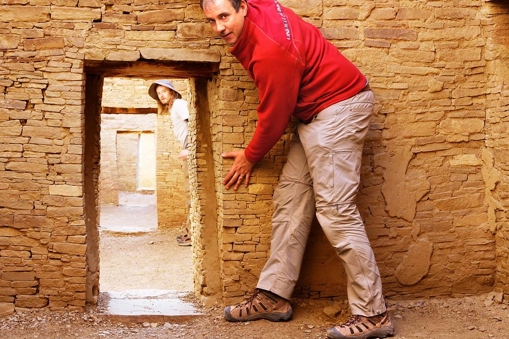 Pueblo Bonito - The Ancients were short :)