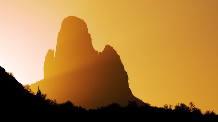 Superstition Mountains Sunrise - Apache Junction, AZ