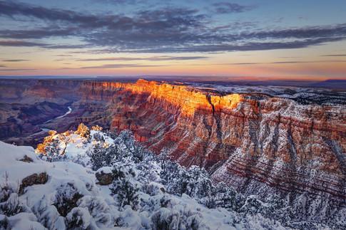 Winter in the Grand Canyon - Arizona
