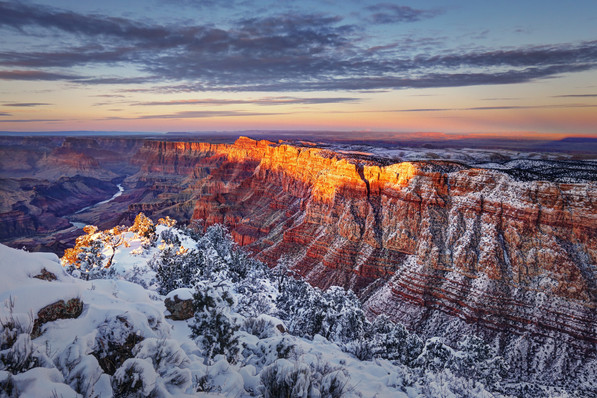 Winter in the Grand Canyon - Arizona