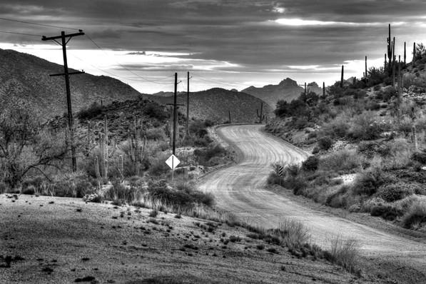 Florence-Kelvin Highway - Kearny, AZ