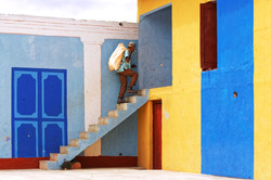 Trinidad, Cuba - Up the stairs