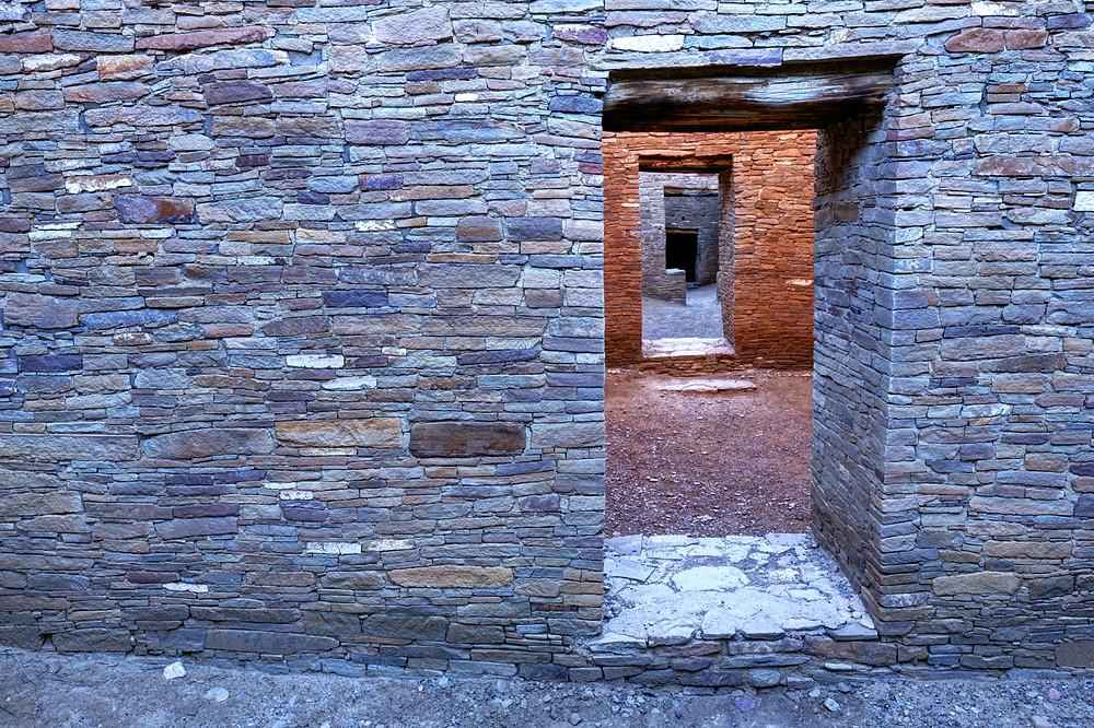 Pueblo Bonito Doorways