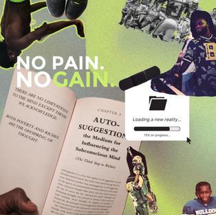 Graphic Design - trespeace's No Pain, No Gain single