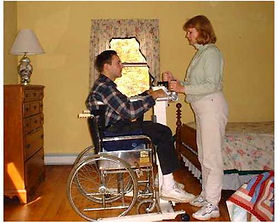 Take Along Lift Wheelchair Transfer